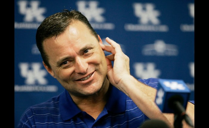 Welcoming Billy Gillispie
